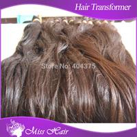 1000GRAM/BAG girl hair bulk, natural black brown tangle free remy hair, free shipping silky raw hair