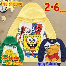 hot Free shipping 2014 new fashion boy's girl 2-3-4-5-6years Thomas  Children's clothing autumn long-sleeve  Birds Winter gift(China (Mainland))