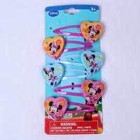 Fashion cute Children kid  Minnie hairpins BB hairpin hair accessory  girl hair for jewelry Set  6pcs /set  PAH-3011C