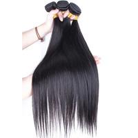6A Russian Virgin Hair Straight Natural Black 3Pcs/Lot Free Shipping Silk Straight Unprocessed Human Hair Weaves Cara Hair