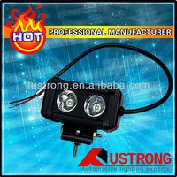 cree led work light 10w*2pcs 4.5 inch 12v24v 20w 1600LM led light for  ATV Tractor