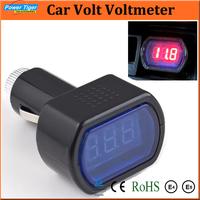 Car Styling 2pcs/lot Diagnostic Tools DC12V Digital LED Car Truck System Battery Voltmeter Voltage Gauge Volt Meter Tester