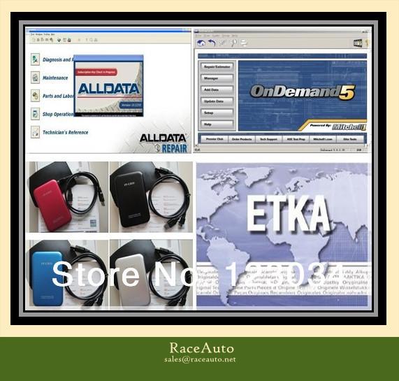 2014 Alldata10.53 and 2014 mitchell,2013 Tecdoc, Atsg, Elsawin 4.1, manager