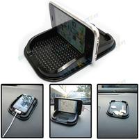 high quality PU Car Anti-Slip Mat For Iphone, PVC Auto Dashboard Anti-skid Non Slip Pad For GPS PDA Cellphone