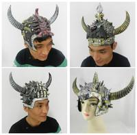 New Cosplay Halloween costume Gladiator Helmet Egypt warrior helmet masquerade masks antique hat Warrior mask Scary