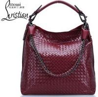 Guaranteed 100% Genuine Leather Bag Cowhide Women's Tassel Bag Shoulder Bags Vintage Handbag women messenger leather handbags