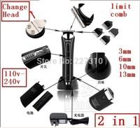 Hair cutting machine shaving 100V-240V Universal hair trimmer razor design pattern blade Hair Clipper men's shaver for lady baby