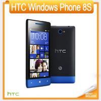 Original HTC Windows Phone 8S A620e Mobile phone 4.0''TouchScreen Dual Core 5MP GPS WIFI Win8 Free Shipping