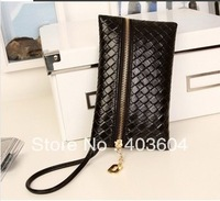 Wholesale Women Wallet bag New Hot Popular Retro Handbag Fashion Woven Belt Handle Cell Phone Bag/Pouch/Case