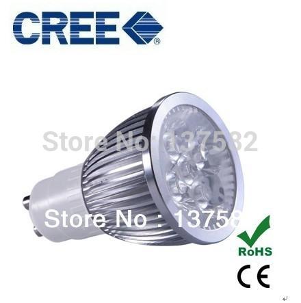 4pcs/lot led bulb GU10 15w 5*3W warm white cold white 110V/220V Dimmable led Light led lamp led spotlight bulb(China (Mainland))