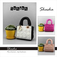 new 2014 designer famous brand diamond women handbag mini leather women's wallets women messenger bags purse summer AXB00007