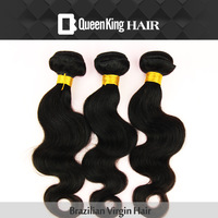 5A Queen King hair products 3 pcs wefts Brazilian virgin hair extension weaves on unprocessed tangle free no shedding black hair