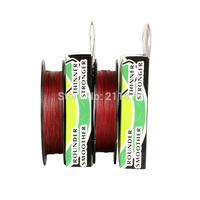 Wholesale - Free shipping 300yards 6LB10LB15LB20LB30LB40LB50LB65LB80LB100LB red  braided fishing line dyneema