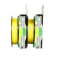 """free shipping"" Wholesale - 300yards 6LB10LB15LB20LB30LB40LB50LB65LB80LB100LB yellow  braided fishing line dyneema"