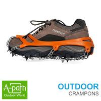 2014 new  Outdoor hiking 1pair Anti Slip Ice Gripper Snow Walking Shoe Spike Grip Camping Climb Ice Crampon Ice Walking Cleat
