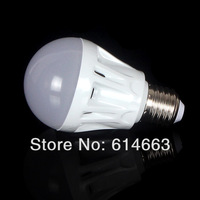 SMD 2835  5pcs Bubble Ball Bulb AC85-265V 3W 5W 7W 9W 12WE27 High power Energy Saving LED Globe Light Bulbs Lamp Warm/Cool White