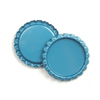"1"" Tinplate Crown Bottle Caps For Epoxy Stickers And DIY Jewelry Accessories Free Shipping wo 42 deisigns for choice"