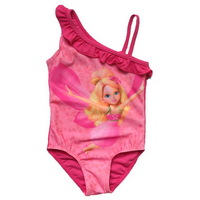 Retail Free Shipping Gril Swimsuit Peppa Pig SZ2-6 Years Swimwear Bathing Beachwear Holiday Bikini Tankini  New Birthday Gift