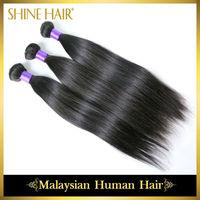 Top Quality 3Pcs Malaysian Virgin Hair Straight Hair Extension,Grade 6A  Malaysian Straight Rosa Hair Products Free Shipping