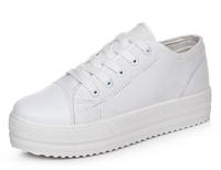 sapatos femininos 4.5cm platform height Canvas women shoes black white casual  Women sneakers 2014