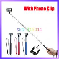 Colorful 95CM-22CM Adjustable Aluminum Alloy Handheld Monopod for Cell Phone Digital Camera Tripod Mount