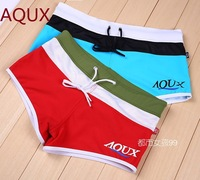 d Aqux brand mens red blue swimming trunks man low rise speedo boxers swim trunk swimwear shorts  for men sunga swimsuit
