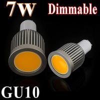 Best Price 5PCS/LOT GU10  LED COB Spot Light Bulb Lamps AC110V/220V Warm/White 120Angle Factory Wholesale Free Shipping