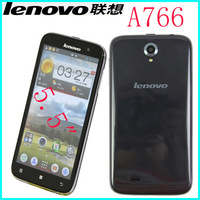 Original Lenovo A766 phone 5 inch MTK6589m Quad Core 1.2Ghz Android 4.2 3G Phone 512RAM 4G ROM Multi languages smartphone