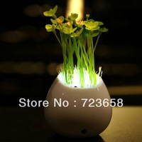 Bonsai romantic green small table lamp small night light baby lamp bed-lighting led lighting