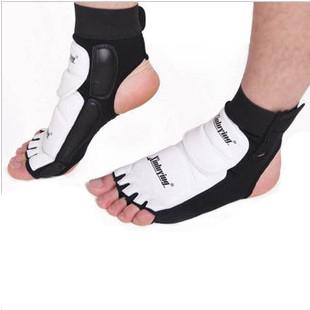Тхэквондо ног протектор поддержки лодыжки боевые ноги охранник по кикбоксингу загрузки WTF утвердил лодыжки брейс защита бесплатная доставка