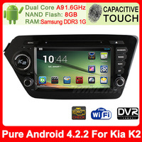 "New 100% Pure Android 4.1 Capacitive Screen for Hyundai Solaris Verna 8"" Car DVD Player GPS IPOD A9 Dual Core DDR3 1GB Free wifi"