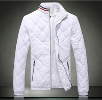 Fashion Brand shipping 2014 New Men's cotton padded jacket Designer thickened winter sport coat, male models warm parka MC002