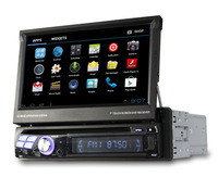Android 4.0 Single1 Din Car DVD GPS Player+3G/WiFi+BT+SWC+PIP+RDS, in dash car radios DVD som automotivo TV central multimidia