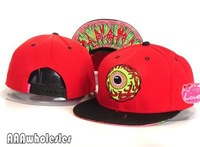 New 2014 Mishka snapback  Zombie Eyes baseball caps  Graffiti bboy doodle skateboard flat along the cap hip-hop hat