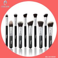 Hot Sale SixPlus 10 Pcs Makeup Brushes Set Box Packing Powder Foundation Eyeshadow Kabuki Make Up Kit