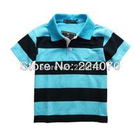 Free shipping retails Children Boys T Shirt colorful  Kids Children Summer sports tops short sleeve t shirt