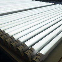 High quality Pure white 6500K led tube 1200mm 4ft t8 tube light 144 pcs Epistar chips