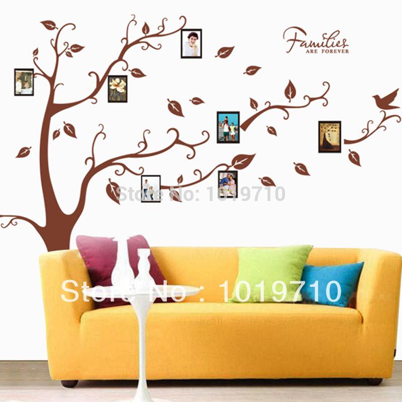 Groene Keuken Muur : Family Tree Wall Decal