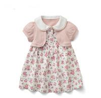 HB0322 female child infant short-sleeve dress baby,little girl princess dress,kids clothing,Wholesale Retail,Honey Baby