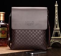 Free shipping Korean style po lo luxury men shoulder messenger bags, new arrival genuine leather bag, men's handbags # LLT-15