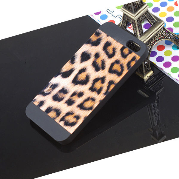 Min.order is $10 (mix order) Hard Leopard Print Skin Protector Shell Cover Case for Apple iphone 4 4S 5 5S DY93(China (Mainland))