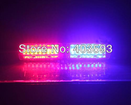 High Quality LED S2 shovels light ray lights Viper Signal Light LED Dash Light Red/Blue LED Strobe Police Flash Light(China (Mainland))
