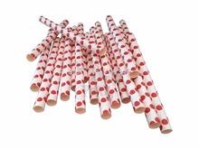 "5.75"" & 10mm Diameter Party Straws in OPP Packaging (4,000 packs/100,000 pcs)(China (Mainland))"
