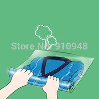 6 pcs of 38*54cm, hand rolling vacuum bag, storage bag, traveling bag, roll up space saving bag for clothing