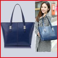 2014 New Fall Fashion Tide Leather Messenger Bag Women Handbag Women Bag Fashion Women Leather Shoulder Bag Large Hand Bag H89