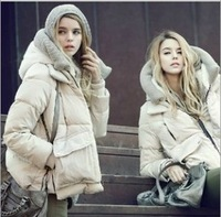 new 2013 Authentic women coats winter fashion, hooded down jacket thick warm military equipment parka.WDY001