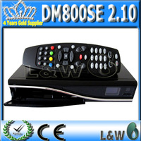 Satellite tv receiver 800hd se BCM4505 turner sim2.10 card DM800se Linux Operating System Enigma 2 FEDEX  free shipping