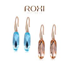 Christmas Delicate Large zircon Earrings,Gift to girlfriend is beautiful,Pure handmade fashionable elegance,2020122590