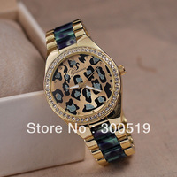 JW481 Fashion Casual Men Geneva Watches Man Leopard Dial Quartz Wristwatches Business Relogio Clock