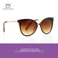 AEVOUGE Original with case Cat Eye Sunglasses women brand glasses sun Eyeglasses 6colors CE UV400 oculos/gafas de sol AE0085